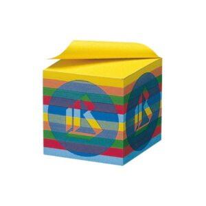 cubo colorato per appunti