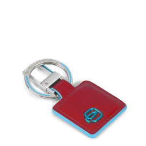 Portachiavi con inserto in pelle Blue Square pc3757b2