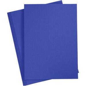 cartoncino blu
