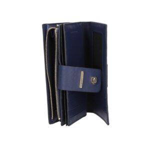 Portafoglio donna con portamonete, porta carte.PIQUADRO PD1353S102R