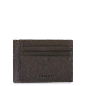 Bustina porta carte di credito tascabile Black Square PP2762B3R
