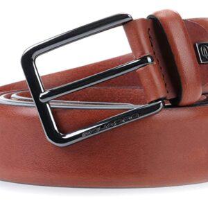 Cintura in pelle con fibbia ad ardiglionePIQUADRO CU4204B3