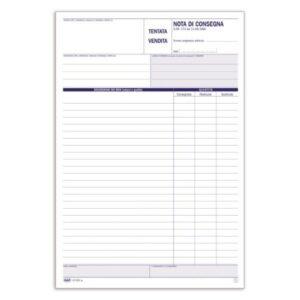 Documento Di Trasporto - Nota Di Consegna / Tentata Vendita - 50 Fogli Buffetti