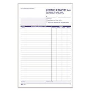 Documento Di Trasporto - Tentata Vendita / Ddt - Blocco - 50 Fogli Buffetti