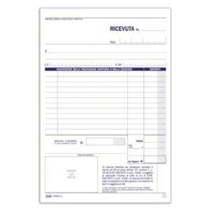 Ricevute Sanitarie - Ricevute Sanitarie E Registro Onorari E Fatture (Vidimabile) - 50 Fogli Numerati buffetti