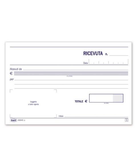 Ricevute Di Denaro - Blocco - 50 Fogli Autoricalcanti - F.To 10X16,8 Cm buffetti