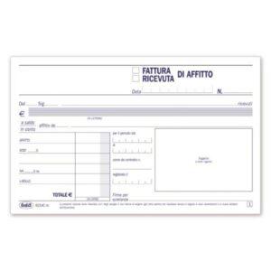 Condominio - Ricevute - Fatture Di Affitto - 50 Fogli - 10X16,8 Cm buffetti