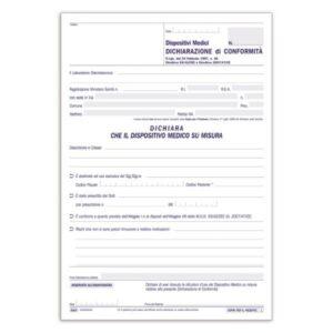 Sicurezza Impianti - Dispositivi Medici: Dichiarazioni Di Conformità - 33 Fogli buffetti