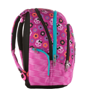 zaino scuola Seven advanced mexi girl rosa, 30 lt