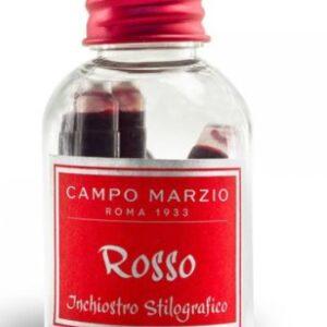 Inchiostro Stilografico Campo Marzio Colore: Rosso