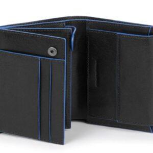 Portafoglio uomo verticale Blue Square PU1740B2S NERO